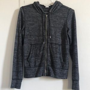 H&M Grey Hoodie Sweatshirt